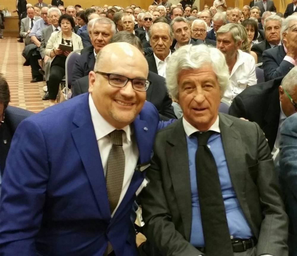Con il grande Gianni RIVERA